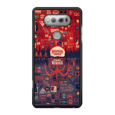 Stranger Things Poster Upside Down Collage LG V20 Case