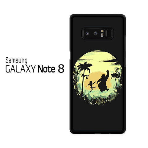 The Jungle Book Minimalist Poster Samsung Galaxy Note 8 Case