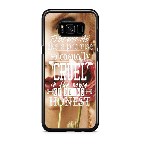 To Break Me Taylor Swift Samsung Galaxy S8 Plus Case