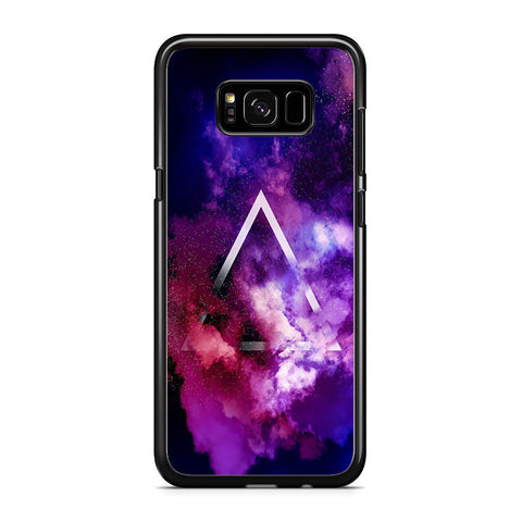 Triangle On Galaxy Smoke Samsung Galaxy S8 Plus Case