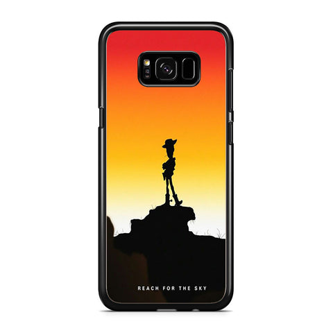 Woody Toy Story Reach For The Sky Samsung Galaxy S8 Plus Case