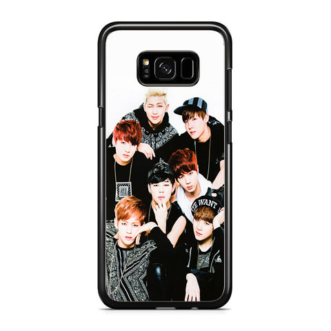 Wpp BTS Samsung Galaxy S8 Plus Case