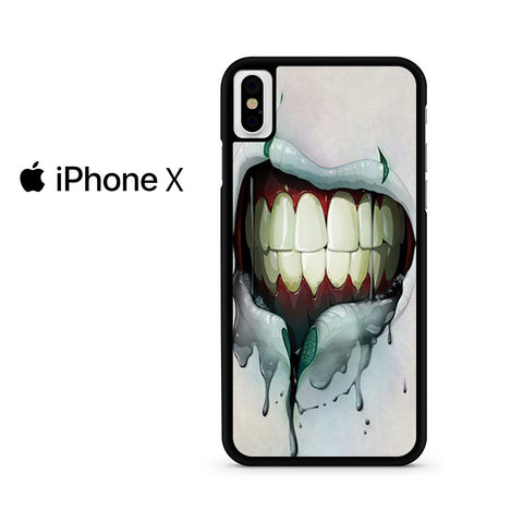 Zombie Bloody Mouth Iphone X Case