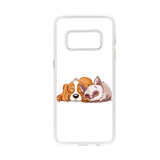 Sleeping Dog And Cat Samsung Galaxy S8 Case