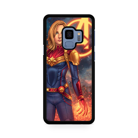 Woman Captain Marvel Samsung Galaxy S9 Case