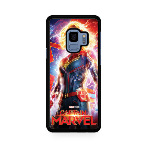 Woman Superheroes Captain Marvel Samsung Galaxy S9 Case