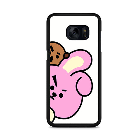 Shooky BT21 Samsung Galaxy S7 Edge Case