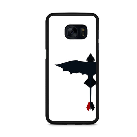 Toothless Dragon Silhouette Samsung Galaxy S7 Edge Case