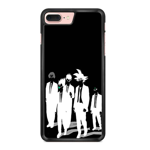 Dragon Ball Z Black And White Sillhouette Iphone 7 Plus Case