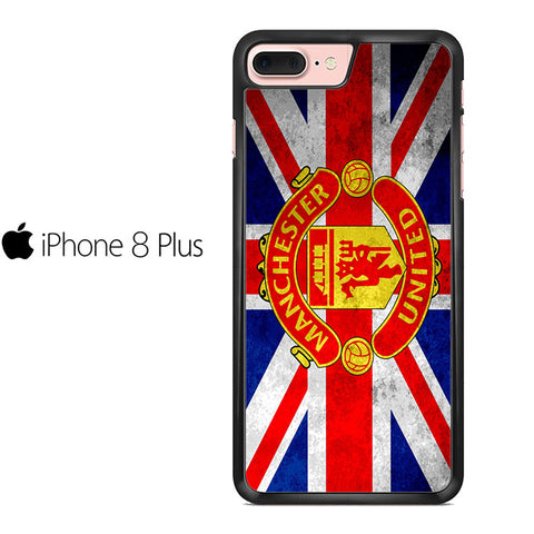 Manchester United England Flag Iphone 8 Plus Case