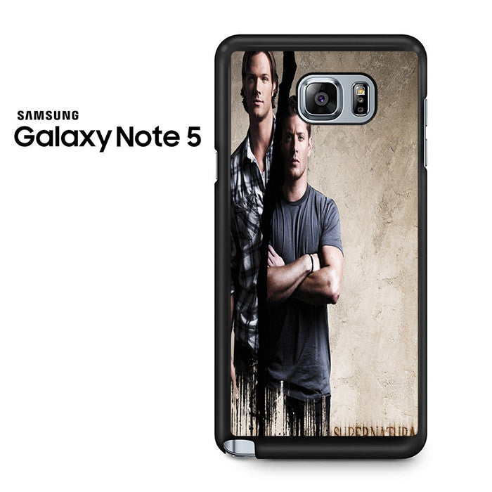 supernatural sam dean 2 samsung galaxy note 5 case comerch. Black Bedroom Furniture Sets. Home Design Ideas