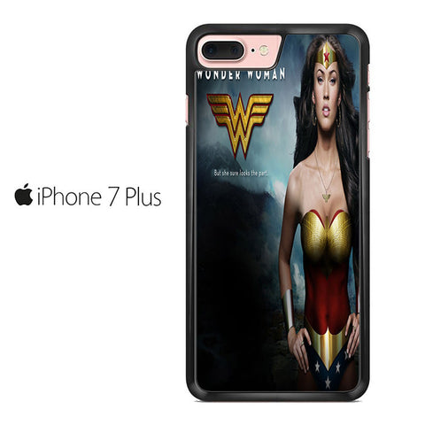 Wonder Woman Poster Iphone 7 Plus Case
