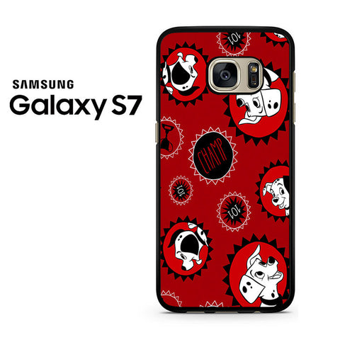 101 Dalmations Frame Samsung Galaxy S7 Case