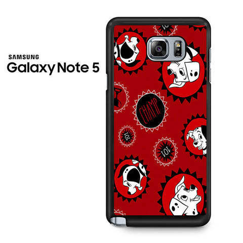 101 Dalmations Frame Samsung Galaxy Note 5 Case