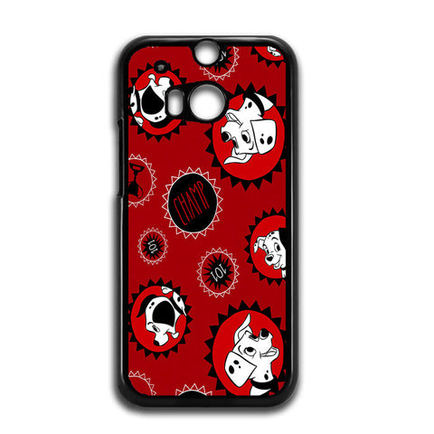 101 Dalmations Frame HTC One M8 Case