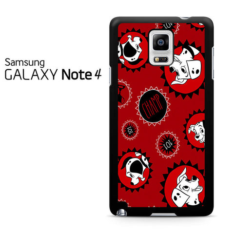 101 Dalmations Frame Samsung Galaxy Note 4 Case