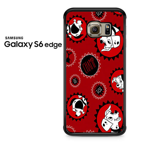 101 Dalmations Frame Samsung Galaxy S6 Edge Case