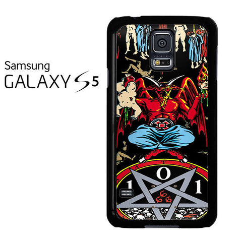 101 Natas Devil Skateboard Samsung Galaxy S5 Case