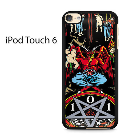 101 Natas Devil Skateboard Ipod Touch 6 Case