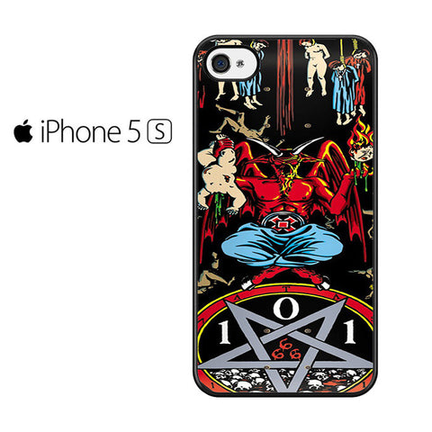 101 Natas Devil Skateboard Iphone 5 Iphone 5S Iphone SE Case