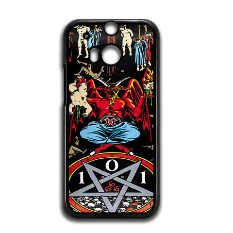 101 Natas Devil Skateboard HTC One M8 Case