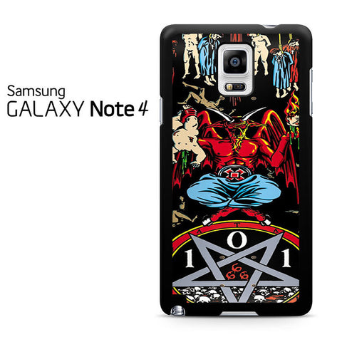 101 Natas Devil Skateboard Samsung Galaxy Note 4 Case