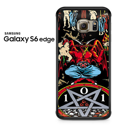 101 Natas Devil Skateboard Samsung Galaxy S6 Edge Case