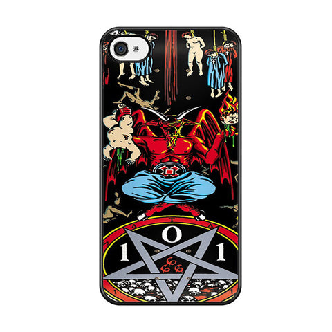 101 Natas Devil Skateboard Iphone 5C Case