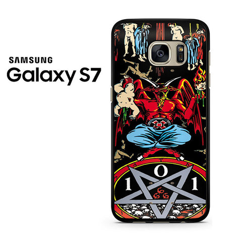 101 Natas Devil Skateboard Samsung Galaxy S7 Case
