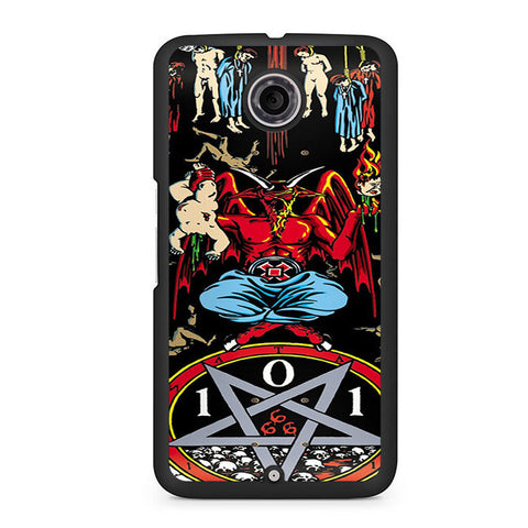 101 Natas Devil Skateboard Nexus 6 Case