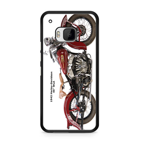 1942 Harley Davidson HTC One M9 Case