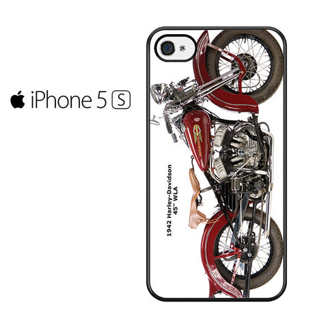 1942 Harley Davidson Iphone 5 Iphone 5S Iphone SE Case