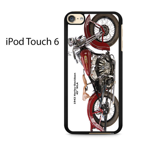 1942 Harley Davidson Ipod Touch 6 Case