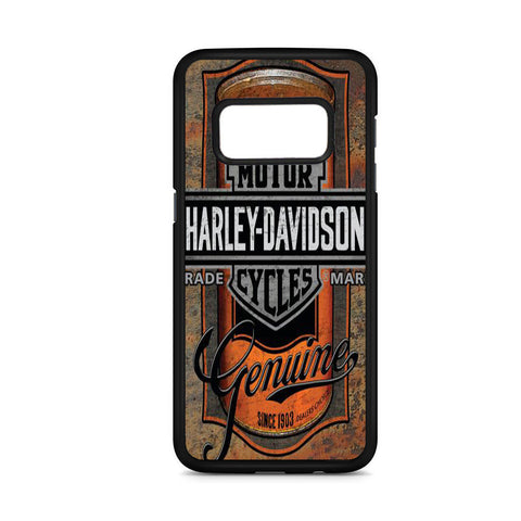 Harley Davidson Oil Can Label Samsung Galaxy S8 Case