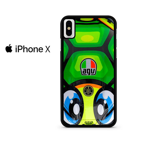 Valentino Rossi Turtle Helmet Iphone X Case