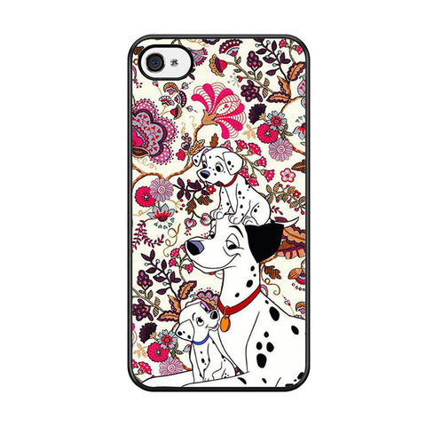 101 Dalmatians Flowers Iphone 5 Iphone 5S Iphone SE Case