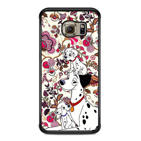 101 Dalmatians Flowers Samsung Galaxy S6 Edge Plus Case