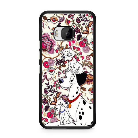 101 Dalmatians Flowers HTC One M9 Case