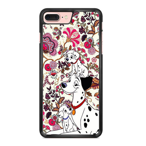 101 Dalmatians Flowers Iphone 7 Plus Case