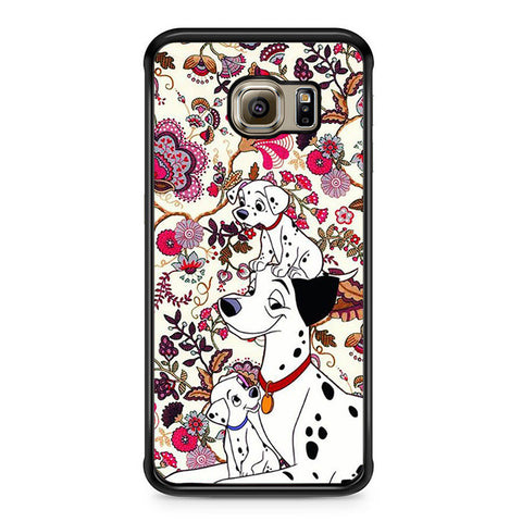 101 Dalmatians Flowers Samsung Galaxy S6 Edge Case