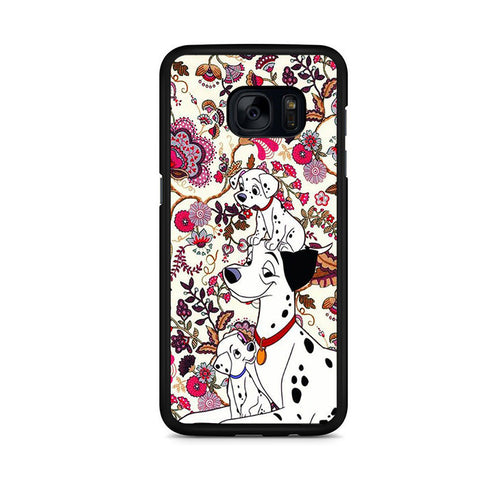 101 Dalmatians Flowers Samsung Galaxy S7 Edge Case