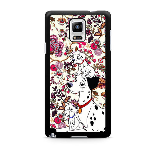 101 Dalmatians Flowers Samsung Galaxy Note 4 Case
