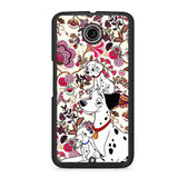 101 Dalmatians Flowers Nexus 6 Case