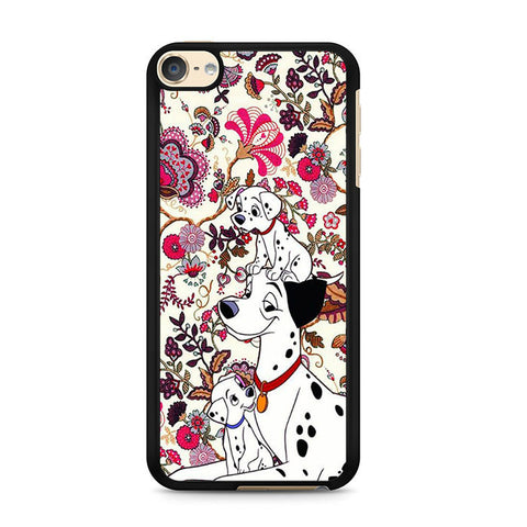 101 Dalmatians Flowers Ipod 6 Case