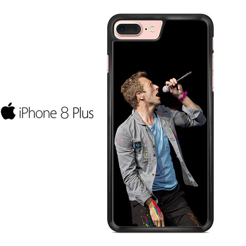 Chris Martin Of Coldplay Iphone 8 Plus Case