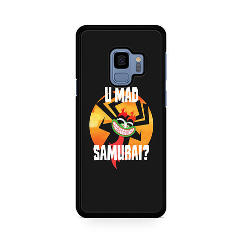 Samurai Jack Aku Quotes U Mad Samurai Samsung Galaxy S9 Case