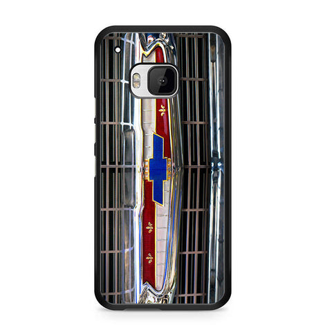 1956 Chevrolet Grill Emblem HTC One M9 Case