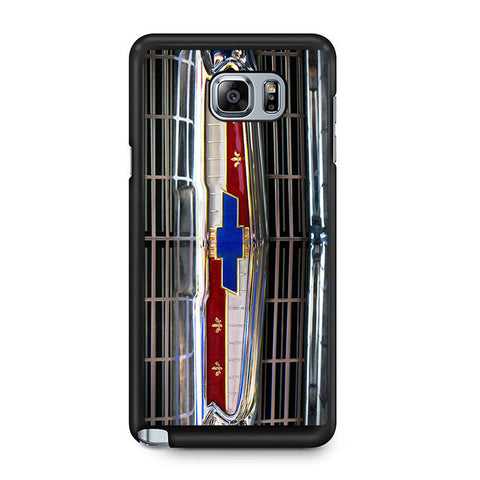 1956 Chevrolet Grill Emblem Samsung Galaxy Note 5 Case