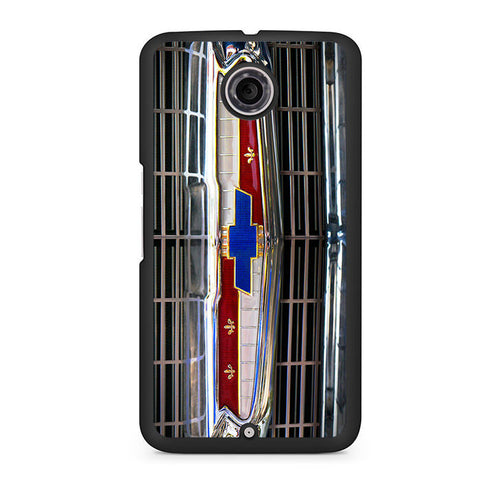 1956 Chevrolet Grill Emblem Nexus 6 Case