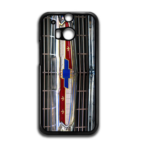 1956 Chevrolet Grill Emblem HTC One M8 Case